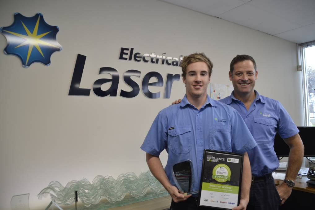 Laser Electrical, Bunbury apprentice wins Legrand Australia 2018 WA 'Apprentice of the Year'